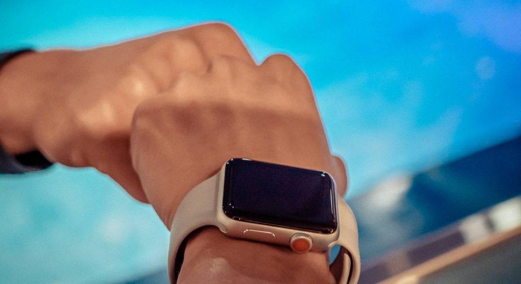 Das Bild zeigt die Apple Watch