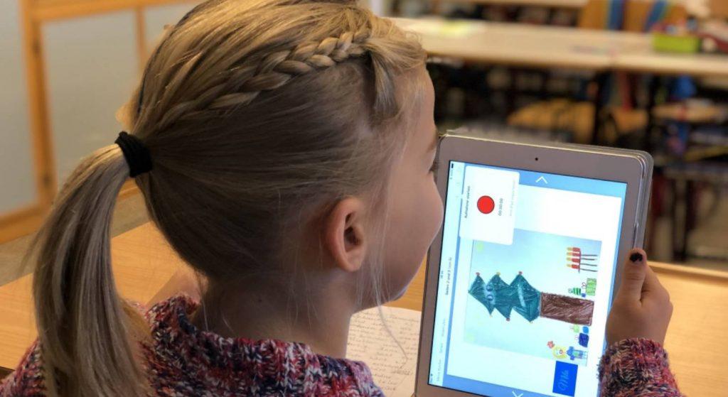 Es gibt spezielle Applikationen für Kinder, die in der Schule Anwendung finden.