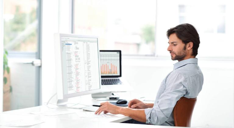 Die Software DELTAproject erleichtert die Arbeit im Büro für Bauleiter und Architekten.