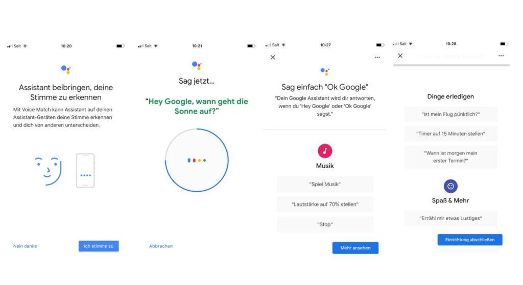 Die Steuerung des Belkin Smart Speakers lässt sich über die Google Home App vornehmen.
