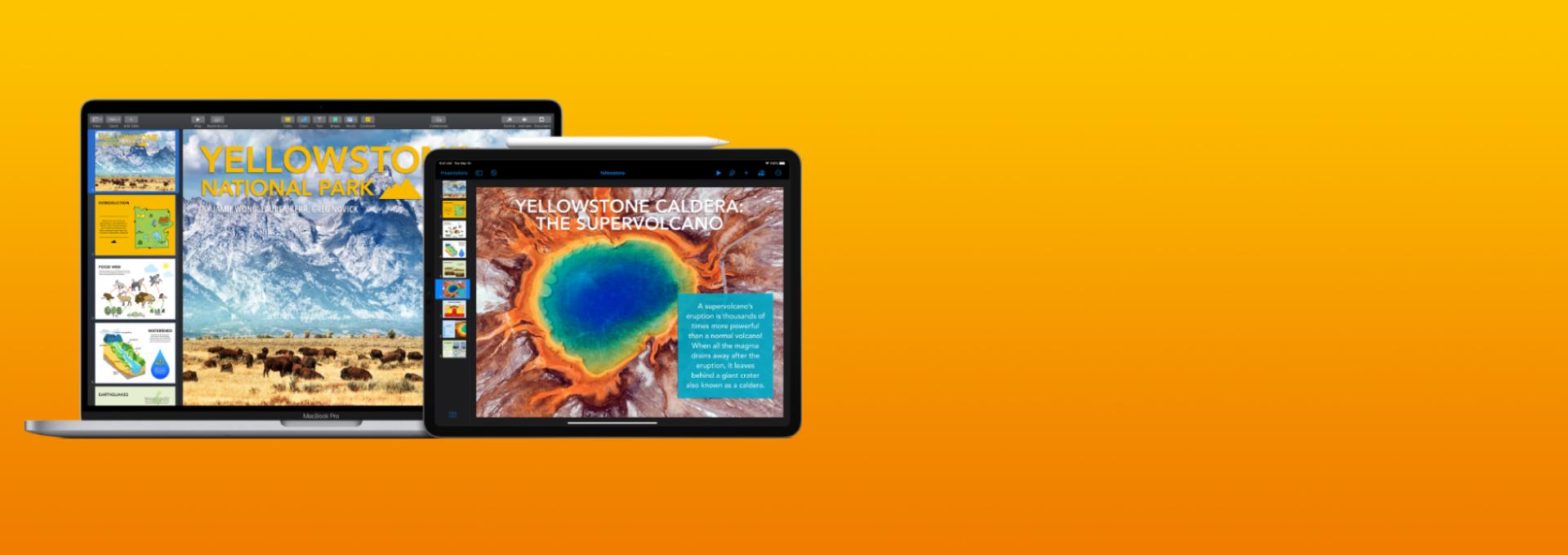 MacBook Pro und iPad Pro im optischen Vergleich