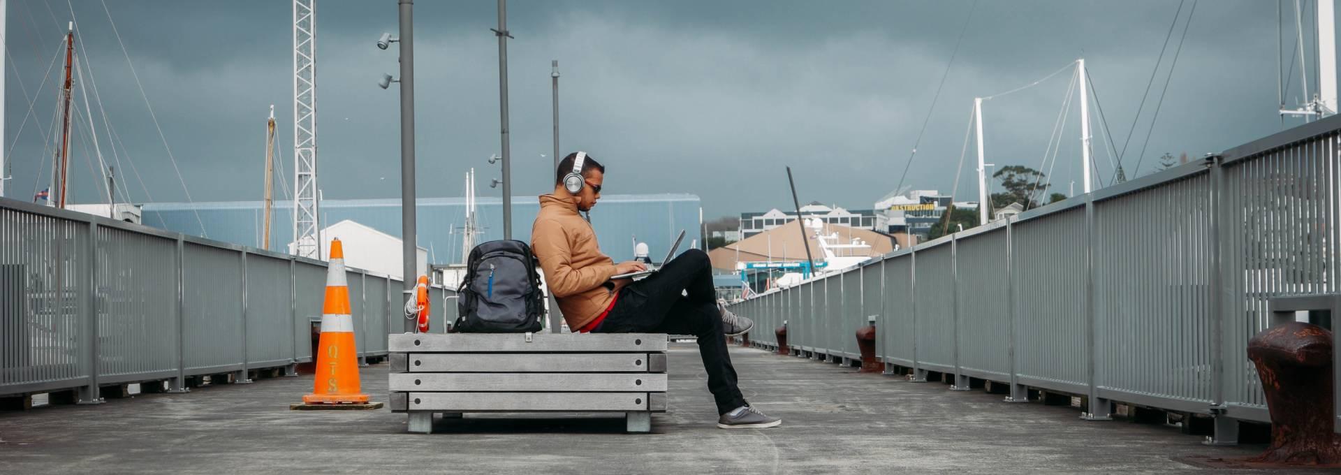 Für digitale Nomaden dienen oft ungewöhnliche Orte als Büro.