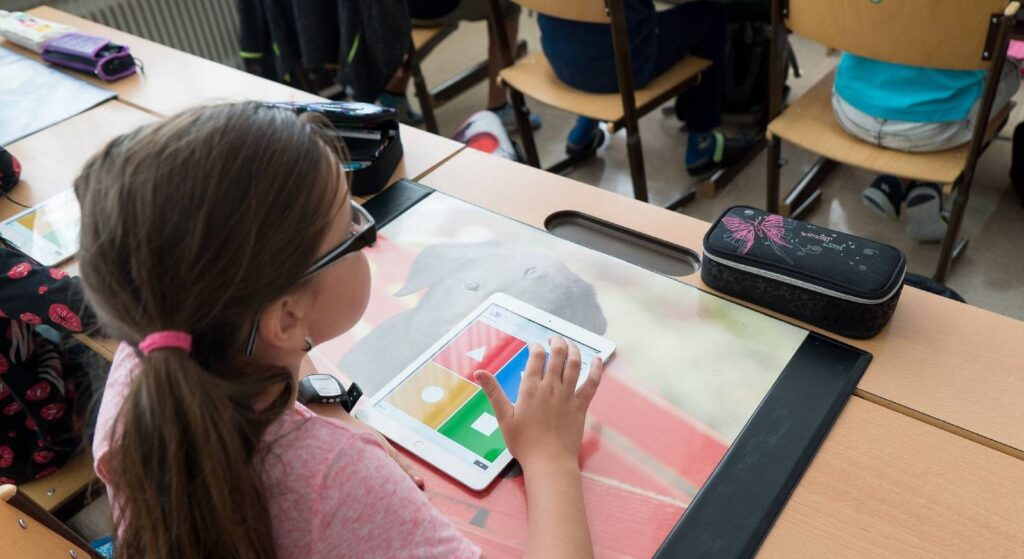 iPad finden in der Schule vielseitigen Einsatz