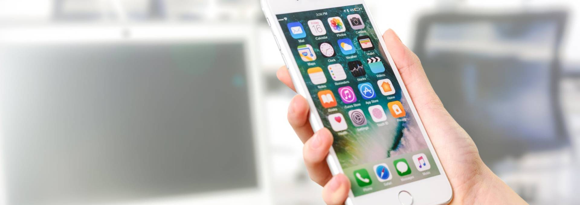 Um den Apple Reparatur Service zu bestellen, reicht ein Telefonanruf.