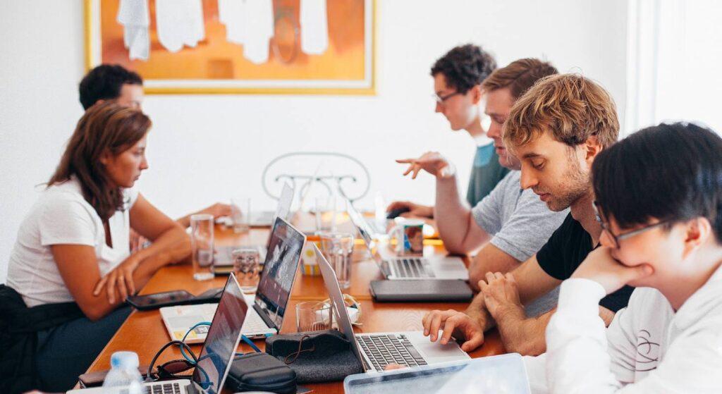 Ein reibungsloser Arbeitsfluss erleichtert auch die Teamarbeit.