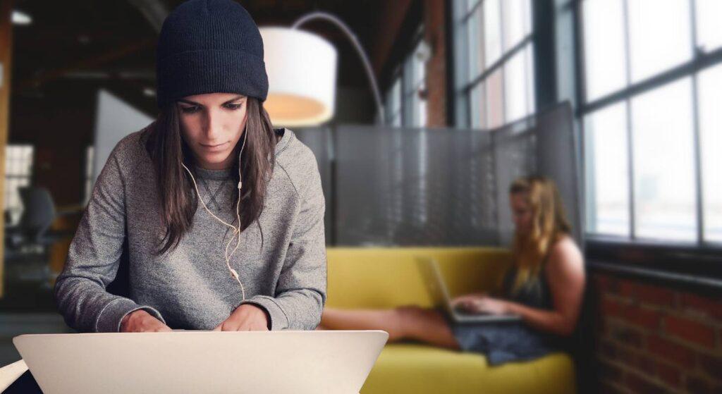 Digitale Nomaden nutzen auch Coworking Spaces