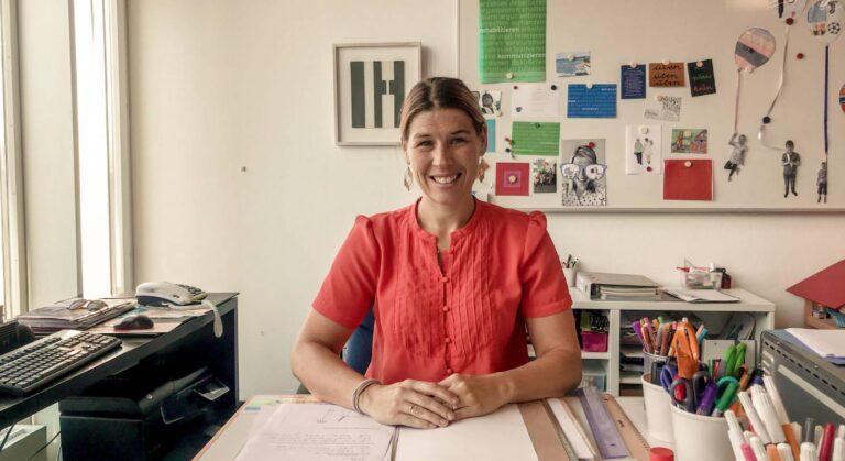Manuela Grutsch, Logopädin an einer Sprachheilschule