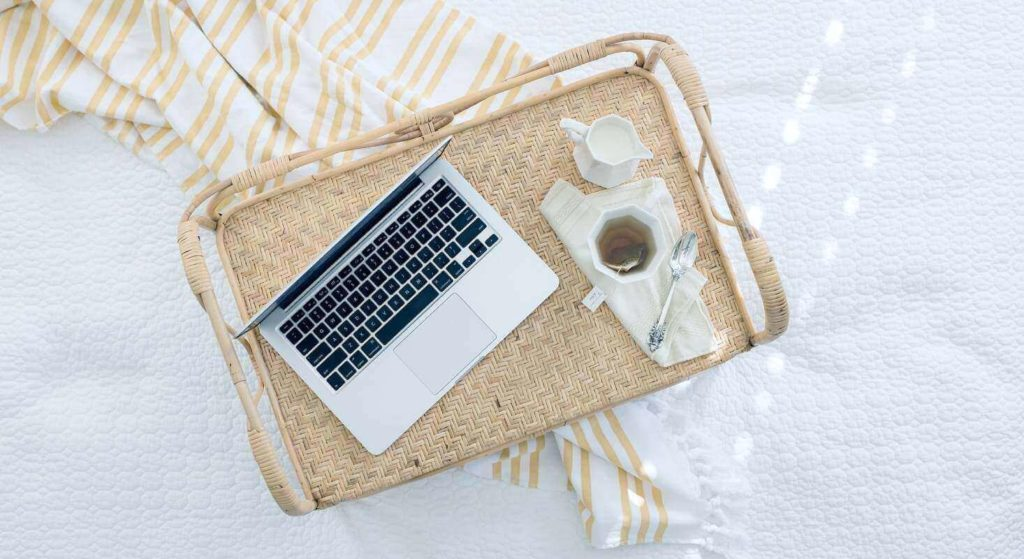 Entspannt Arbeiten zu können ist wichtig für digitale Nomaden