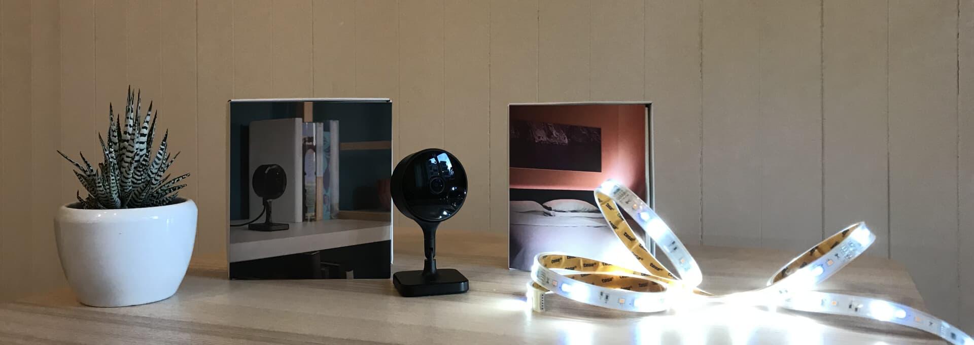 Eve Cam und Eve Light Strip für das Smart Home