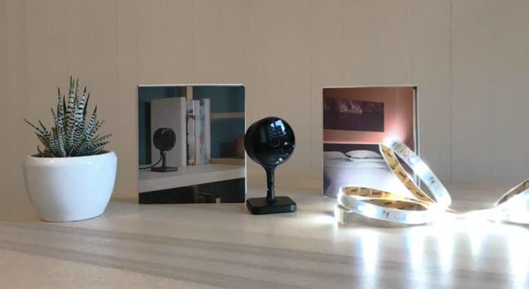 Mit Eve Light Strip und Eve Cam Smart Home einrichten.