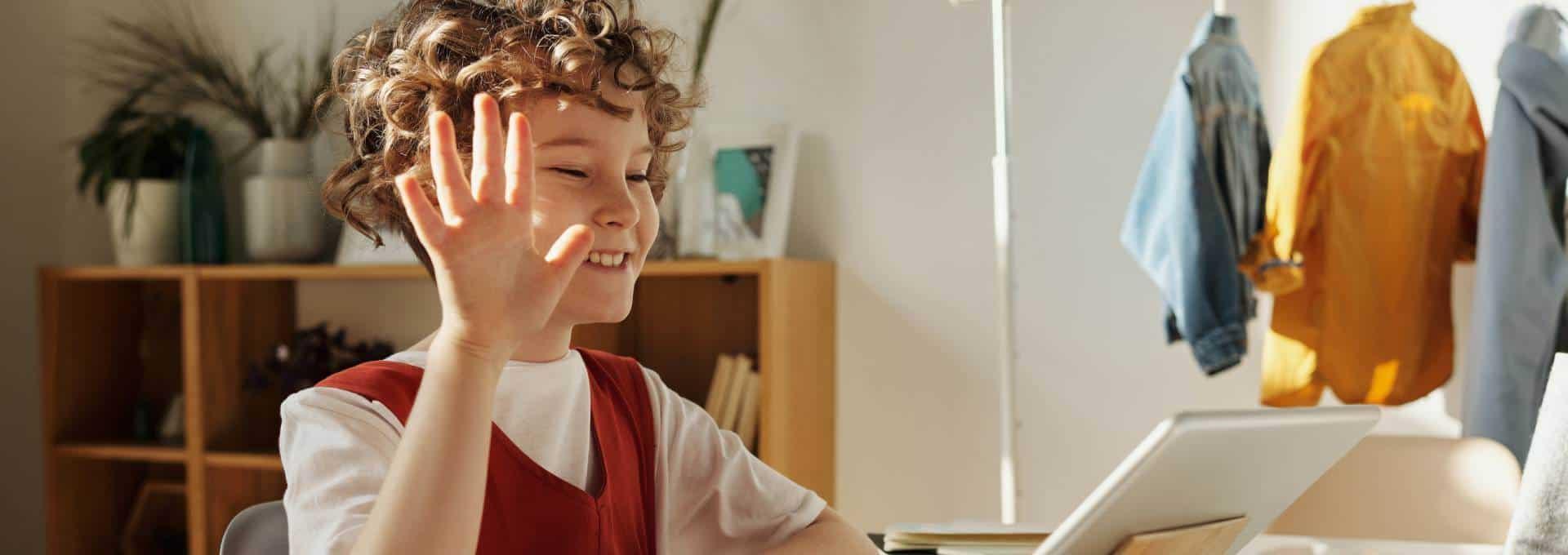 Dank Kindersicherung können Kinder sicher im Internet surfen