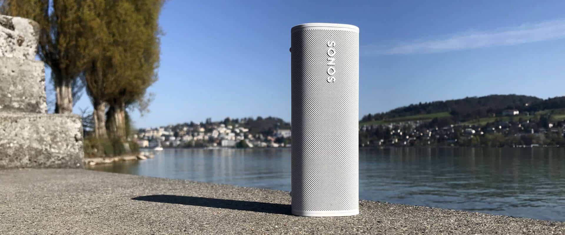 leichter Smart Speaker Sonos Roam am See