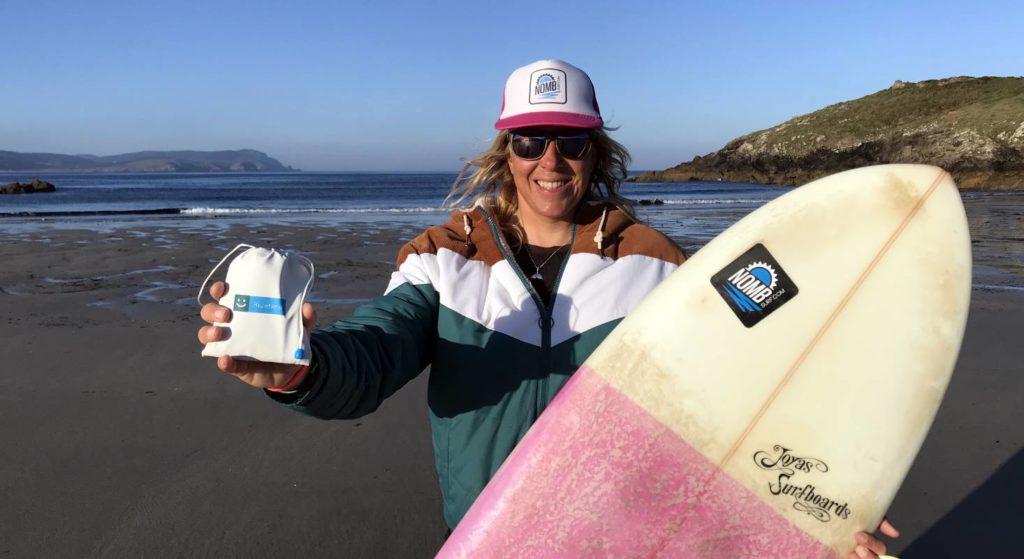 Elektrostimulation für Surfer mit Bluetens