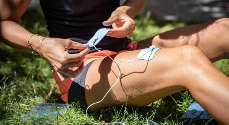 Elektrostimulation mit Bluetens beim Sport
